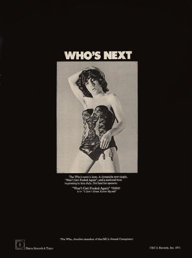 The Who - Who's Next - 1971 USA