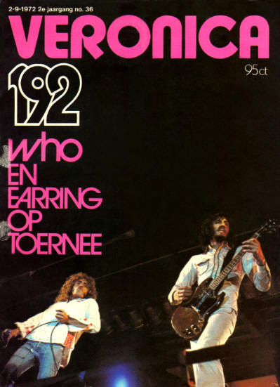 The Who - Holland - Veronica - September 2, 1972