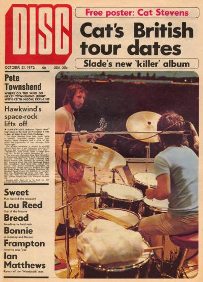 The Who - UK - Disc - October 21, 1972