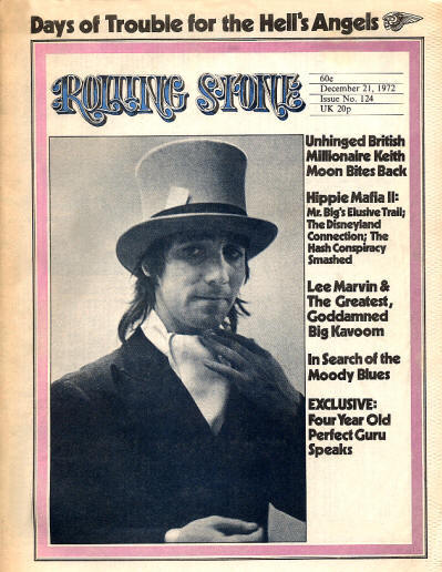 Keith Moon - USA - Rolling Stone - December 21, 1972