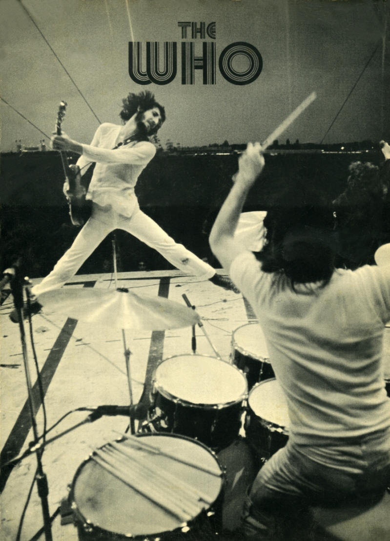 The Who - 1973 UK - Track Records - Press Kit