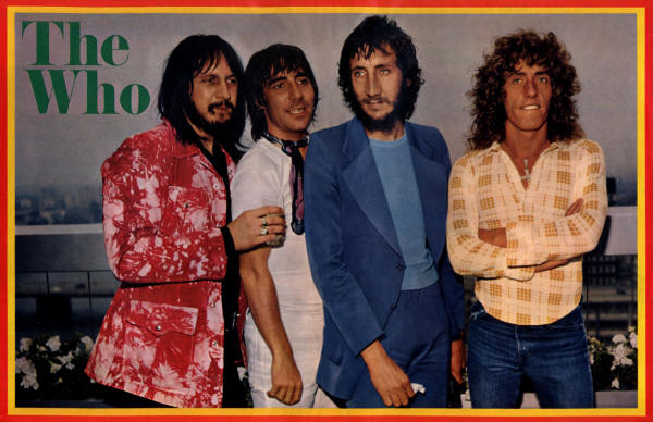The Who - 1972 Germany