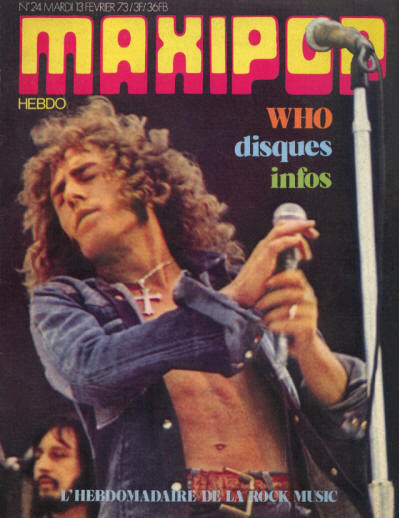 The Who - France - Maxipop - February 13, 1973
