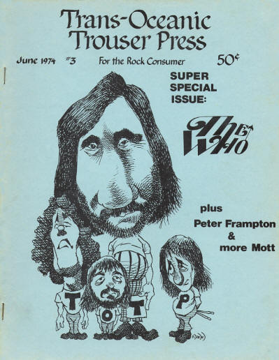 The Who - USA - Trouser Press - June, 1974