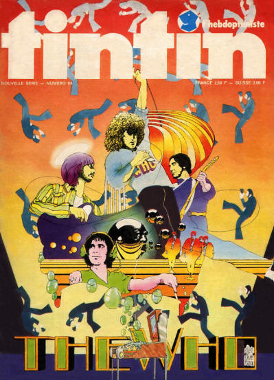 The Who - France - Tin Tin - August, 1974