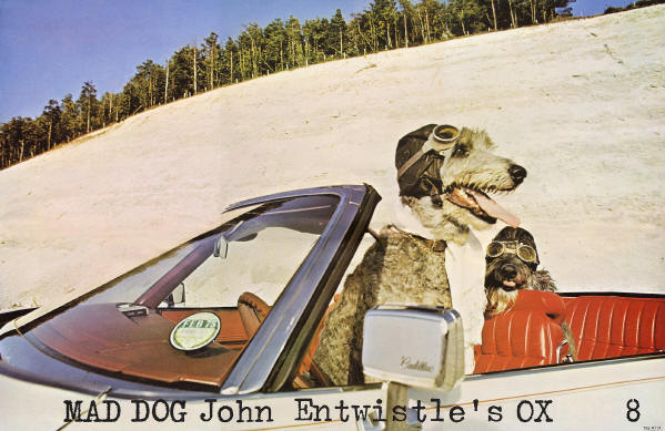 "John Entwistle - Mad Dog John Entwistle's Ox - 1975 - Included with LP copies of John's ""Mad Dog"" album"