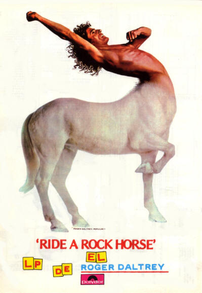 Roger Daltrey - Ride A Rock Horse - 1975 Spain