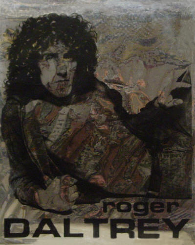 Roger Daltrey - 1975 USA (bad reflections from Mylar poster)