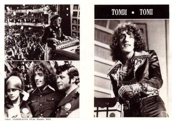 The Who - Tommy - 1975 Yugoslavia Flyer