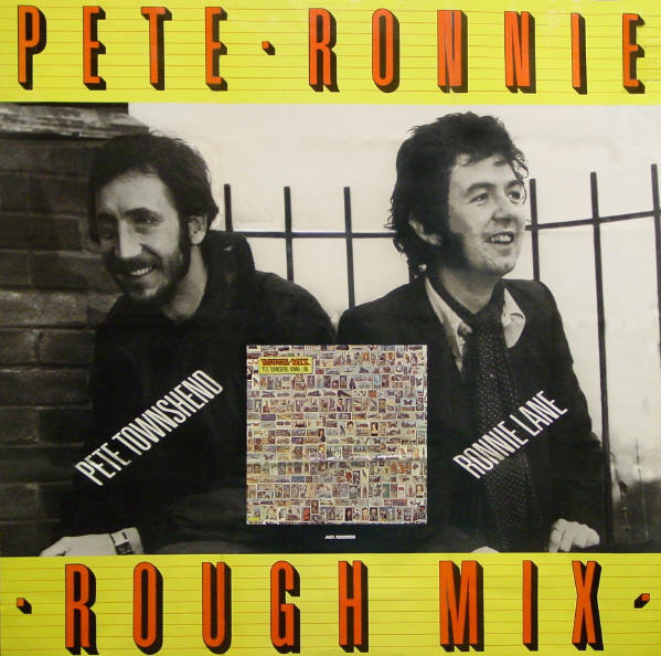 Pete Townshend & Ronnie Lane - Rough Mix - 1977 USA (Promo)