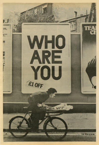 The Who - Who Are You - 1978 UK
