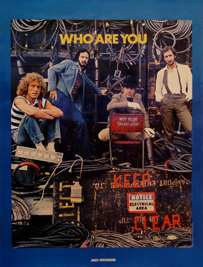 The Who - Who Are You - 1978 Canada (Promo)