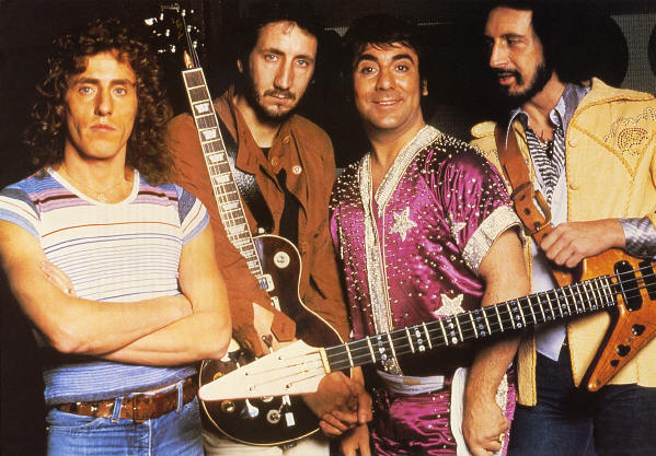 The Who - Circa 1978 (from the 1989 Poster Book)