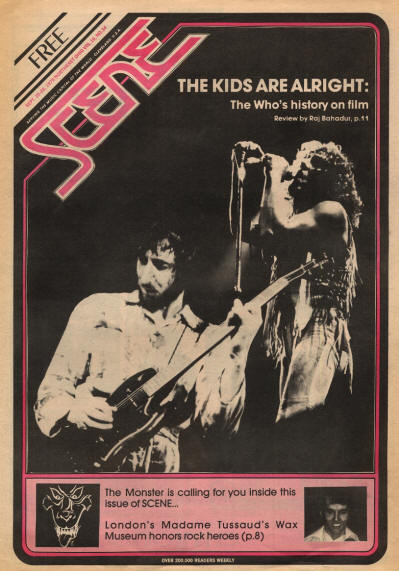 The Who - USA - Scene - September 20 - 26, 1979