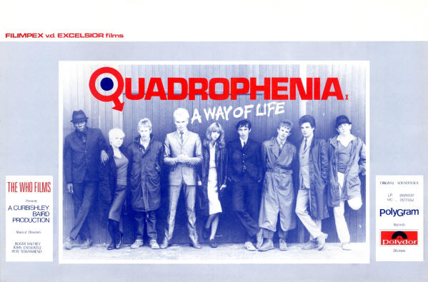 The Who - Quadrophenia - 1979 Belgium (Promo)