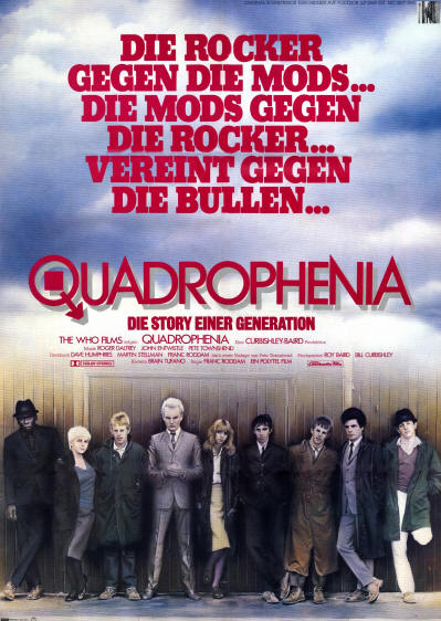 The Who - Quadrophenia - 1979 Germany (Promo)