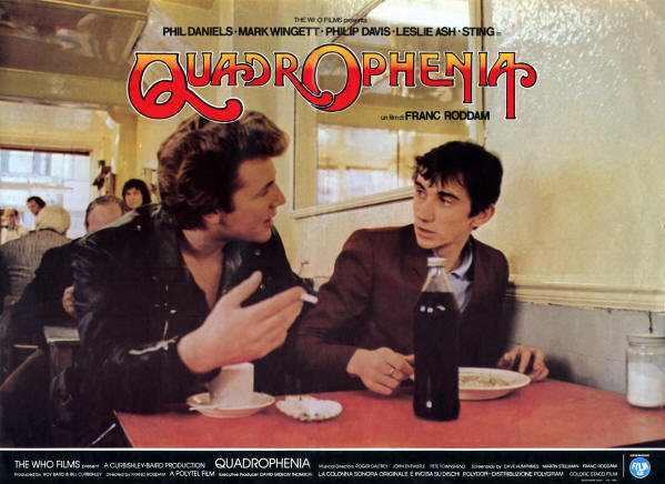The Who - Quadrophenia - 1979 Italy (Promo)