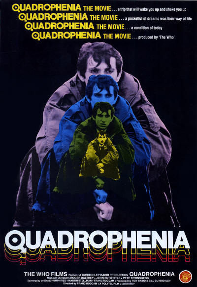 The Who - Quadrophenia - 1979 USA (Reproduction)