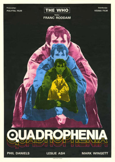 The Who - Quadrophenia - 1979 Yugoslavia (Promo)