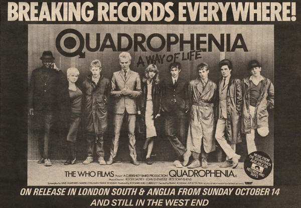 The Who - Quadrophenia - 1979 UK