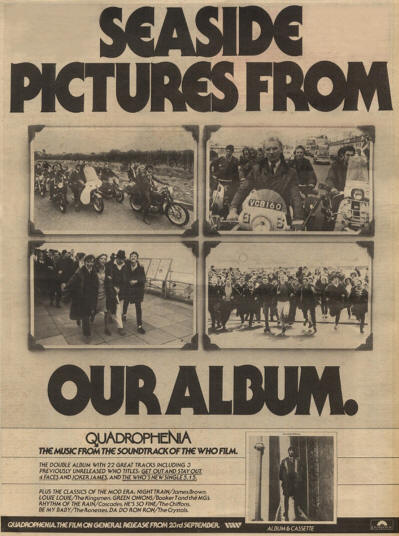 The Who - Quadrophenia (Soundtrack) - 1979 UK