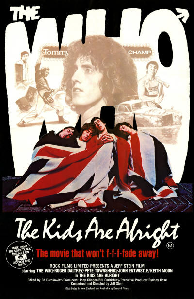 The Who - The Kids Are Alright - 1979 Australia (Promo)