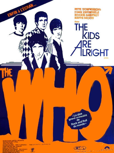 The Who - The Kids Are Alight - 1979 France (Promo)