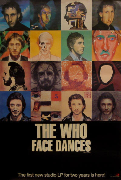 The Who - Face Dances - 1981 UK (Promo)