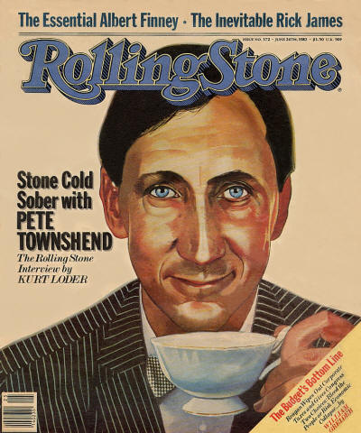 Pete Townshend - USA - Rolling Stone - June 24, 1982