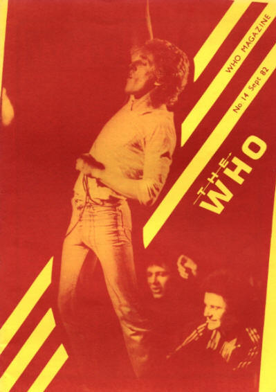 The Who - UK - The Who Magazine #14 - September, 1982