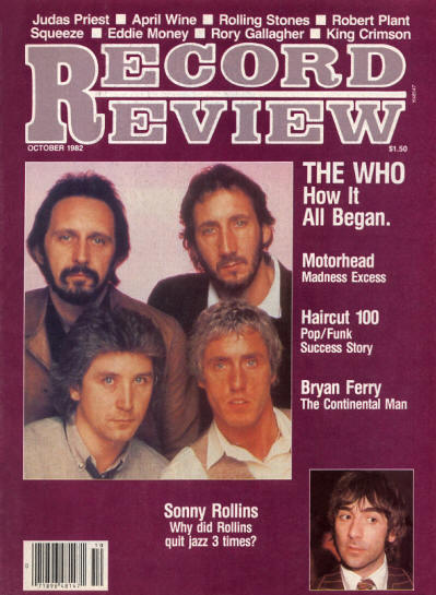 The Who - USA - Record Review - October, 1982