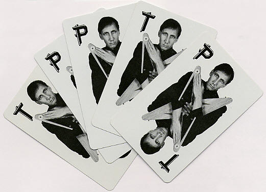 Pete Townshend - All The Best Cowboys Have Chinese Eyes - Promo Playing Cards