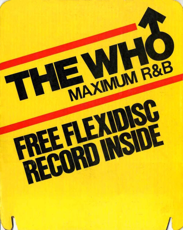The Who - Maximum R&B - 1982 USA Store Display