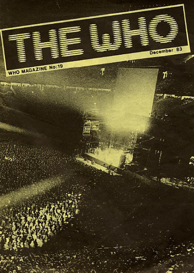 The Who - UK - The Who Magazine #19 - December, 1983