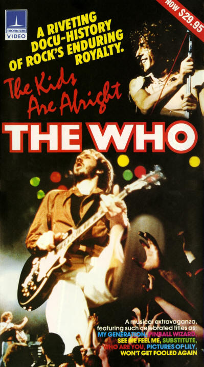The Who - The Kids Are Alright (Video) - 1984 USA (Promo)