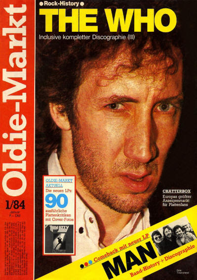 The Who - Germany - Oldie-Markt - January, 1984