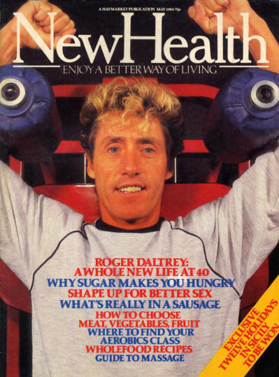 Roger Daltrey - UK - New Health - May, 1984