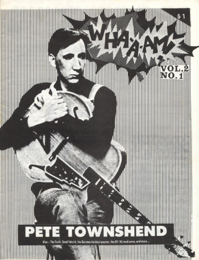 Pete Townshend - USA - WHA-A-M! - October, 1984