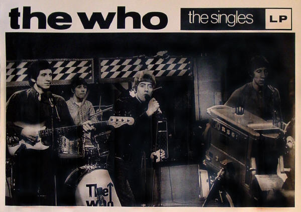 The Who - The Who Singles - 1984 UK (Promo)