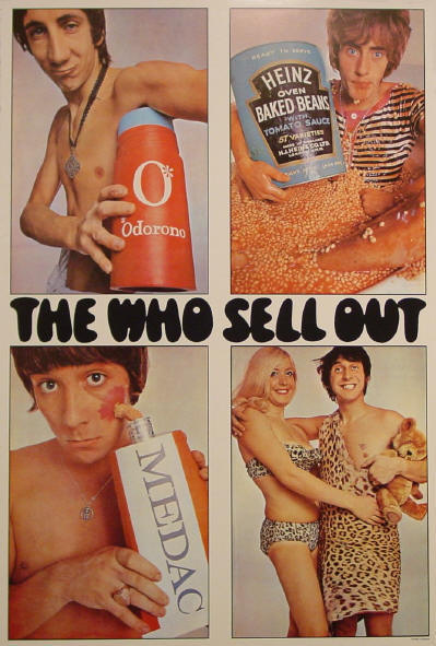 The Who Sell Out (Reissue) - 1984 USA