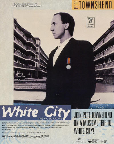 Pete Townshend - White City (Video) - 1985 USA