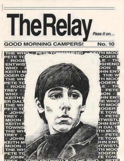The Who - USA- The Relay #10 - February, 1989
