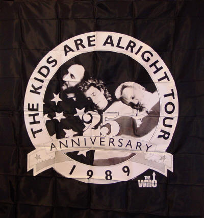 The Who - The Kids Are Alright Tour - 1989 Tapestry