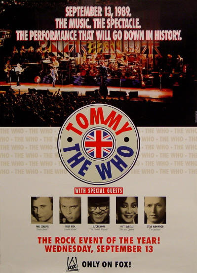 The Who - Tommy on Fox - 1989 USA (Promo)