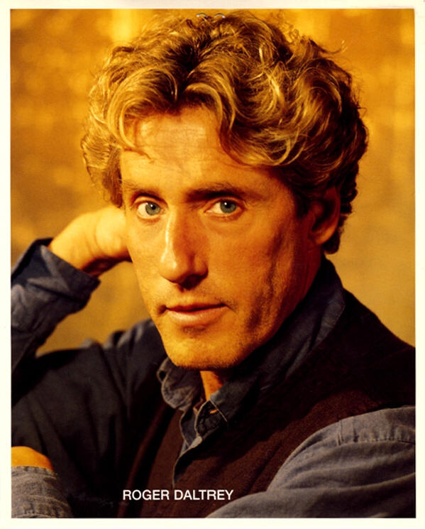 Roger Daltrey - 1991 USA Press Kit