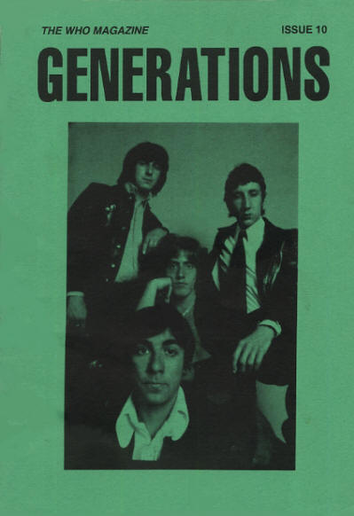 The Who - UK - Generations 10 - Fall, 1991