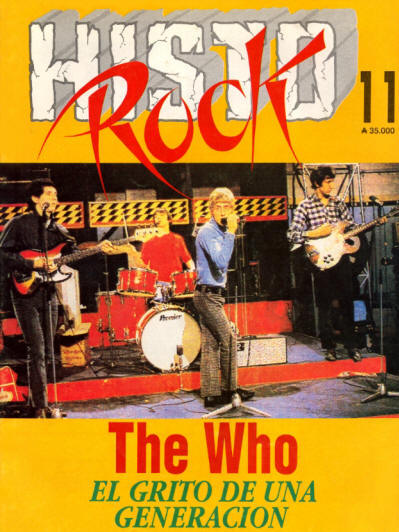 The Who - Argentina - Histo Rock 11 - 1991