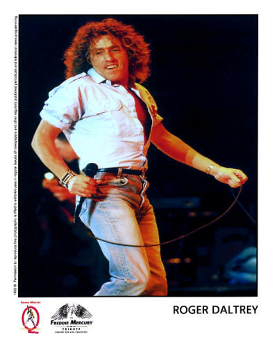 Roger Daltrey - The Tribute To Freddie Mercury Concert - 1992