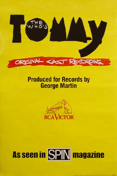 The Who - Tommy (Broadway Soundtrack) - 1993 USA (Promo)