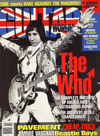 The Who - USA - Guitar World - June, 1994